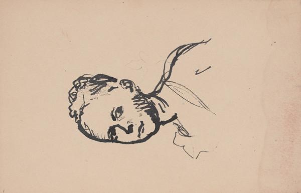 Arnold Peter Weisz-Kubínčan – Skicár 11 Portrét dievčaťa