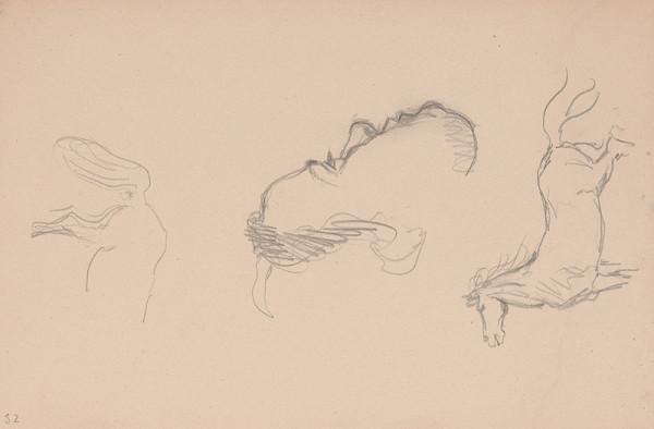 Arnold Peter Weisz-Kubínčan – Skicár 15 Rôzne skice
