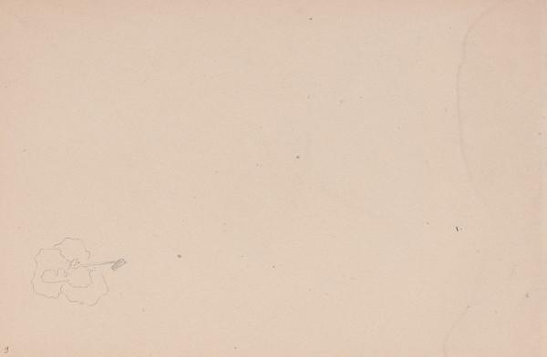 Arnold Peter Weisz-Kubínčan – Skicár 15 Nedokončená skica 2