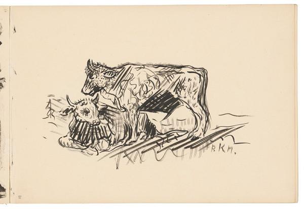 Arnold Peter Weisz-Kubínčan – Skicár 19 Kravy
