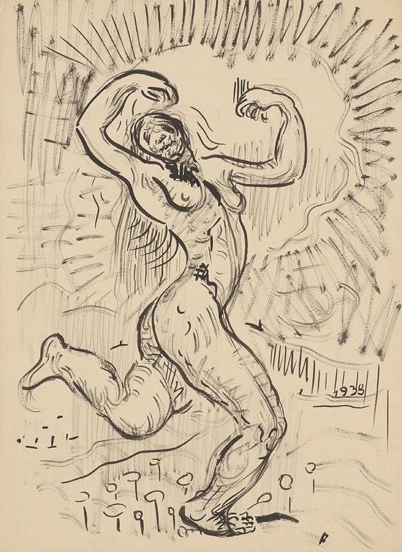 Arnold Peter Weisz-Kubínčan – Postava ženy