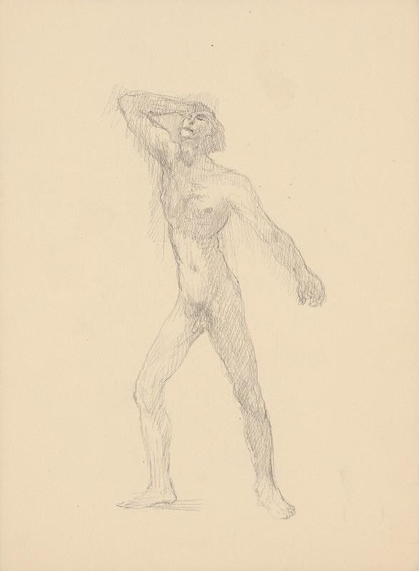 Arnold Peter Weisz-Kubínčan - Mužský akt