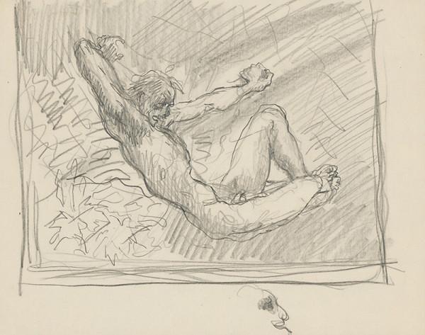 Arnold Peter Weisz-Kubínčan – Sediaci mužský akt