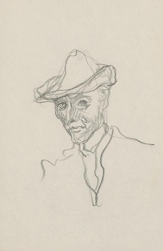 Arnold Peter Weisz-Kubínčan - Portrét muža