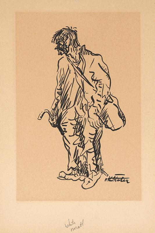 Arnold Peter Weisz-Kubínčan – Postava muža (Tulák)