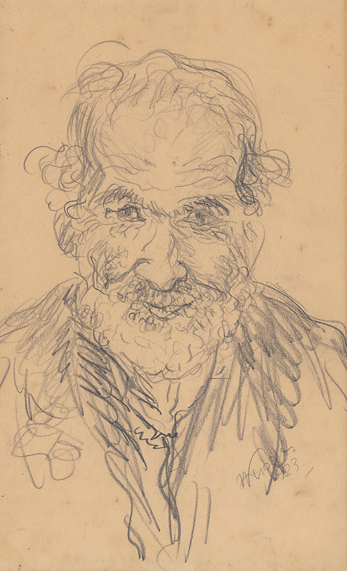Arnold Peter Weisz-Kubínčan - Starec