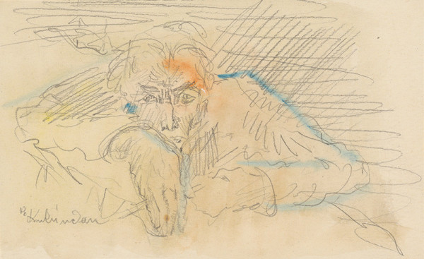 Arnold Peter Weisz-Kubínčan - Autoportrét vo farbe