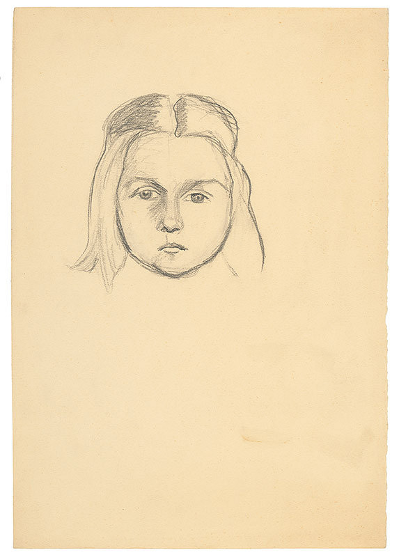Arnold Peter Weisz-Kubínčan – Hlava dievčaťa