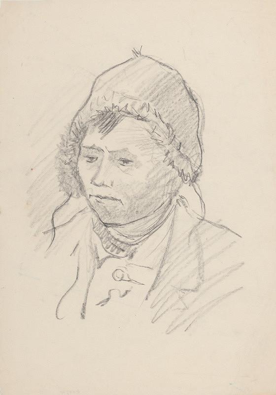 Arnold Peter Weisz-Kubínčan – Portrét muža