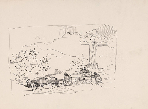 Arnold Peter Weisz-Kubínčan – Pohrebný voz (?)
