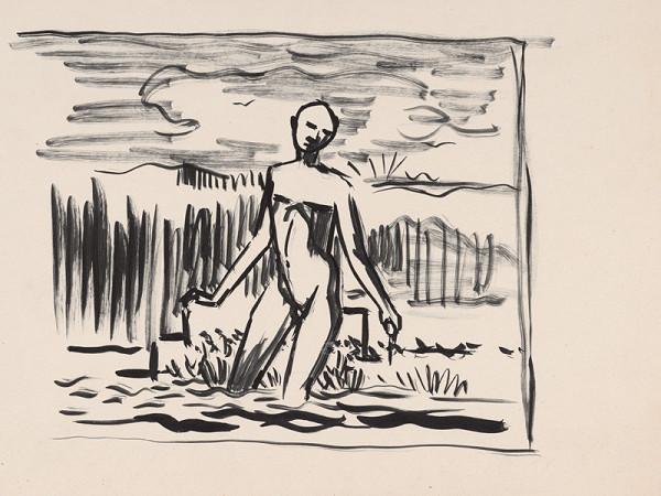 Arnold Peter Weisz-Kubínčan – Kupajúca sa postava