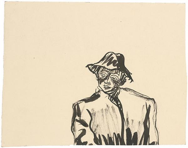 Arnold Peter Weisz-Kubínčan - Muž v klobúku