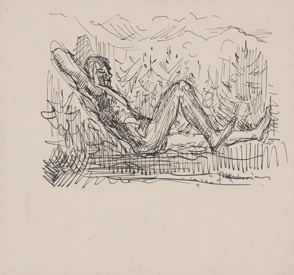 Arnold Peter Weisz-Kubínčan – Sediaci muž