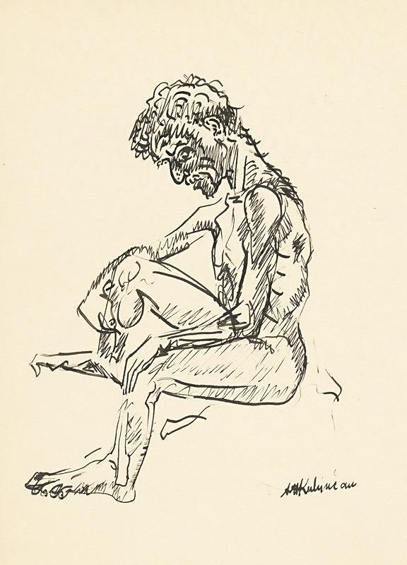 Arnold Peter Weisz-Kubínčan - Mužská postava