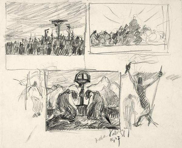 Zolo Palugyay - Štyri kresbové štúdie
