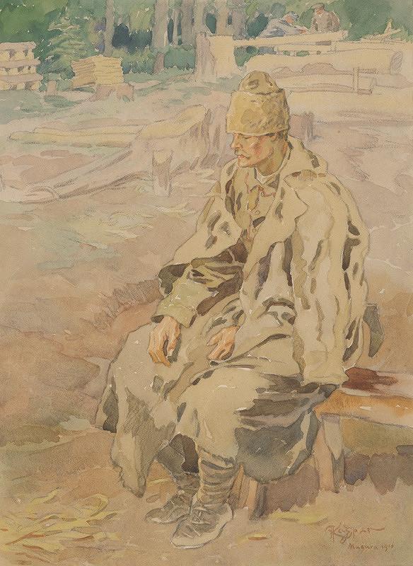 Adolf Kašpar - Drevorubač z Magury