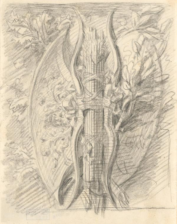 Francúzsky majster z 19. storočia – Štúdia ornamentu