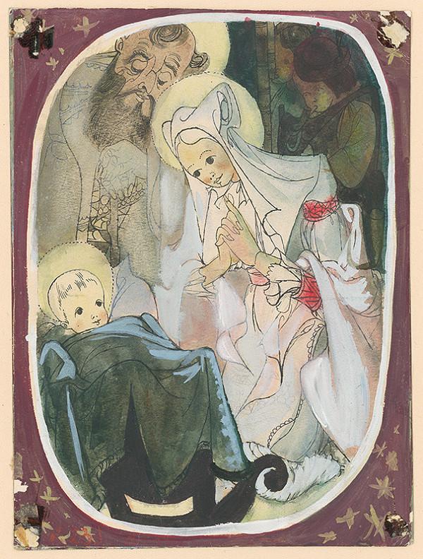 Ján Novák - Narodenie Ježiša