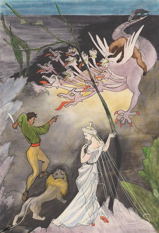 Mária Želibská - Dvanásťhlavý drak