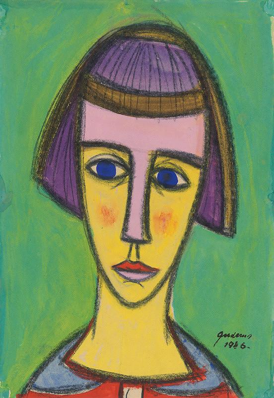 Ladislav Guderna – Hlava dievčaťa