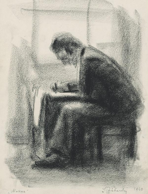 Ladislav Záborský – Štúdia maliara