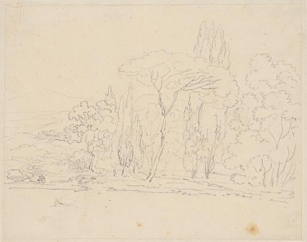 Vincenzo Camuccini - Krajina so stromami