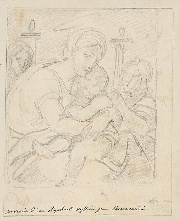 Vincenzo Camuccini - Kompozícia podľa Rafaelovho obrazu