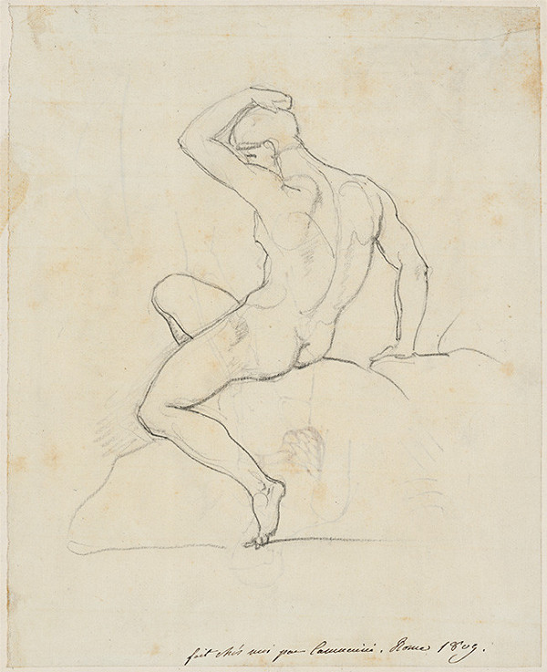 Vincenzo Camuccini – Mužský akt