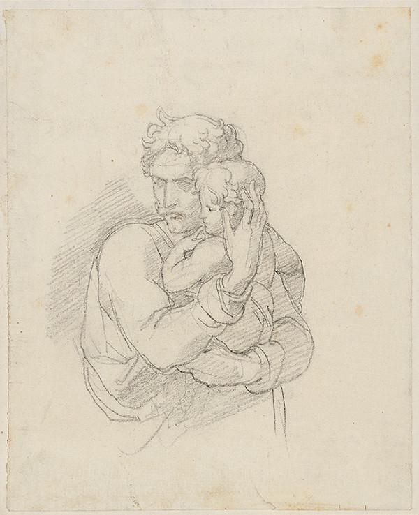 Vincenzo Camuccini – Muž s dieťaťom