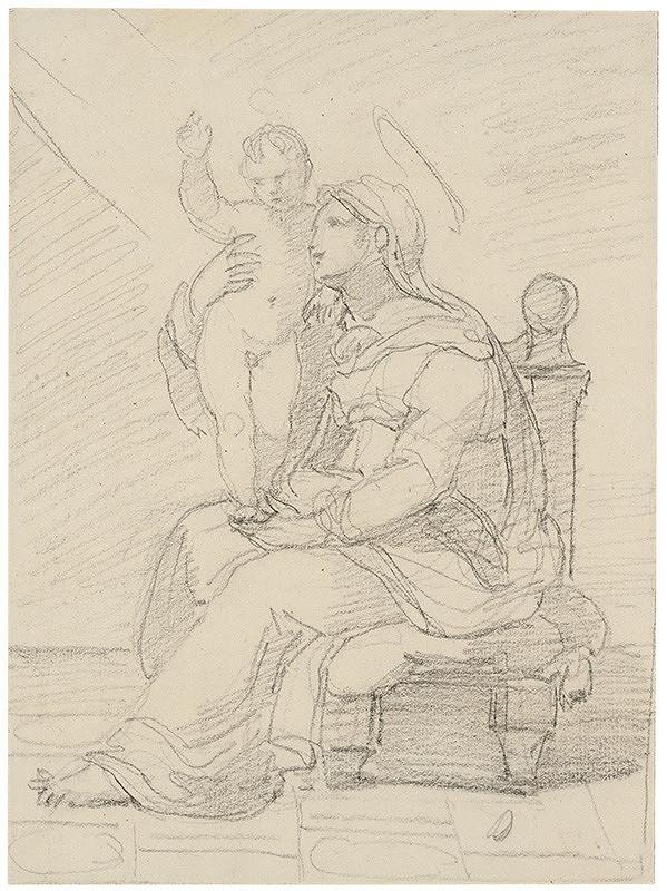 Vincenzo Camuccini – Madona s dieťaťom