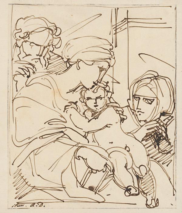 Vincenzo Camuccini – Madona s dieťaťom a dvomi svätými