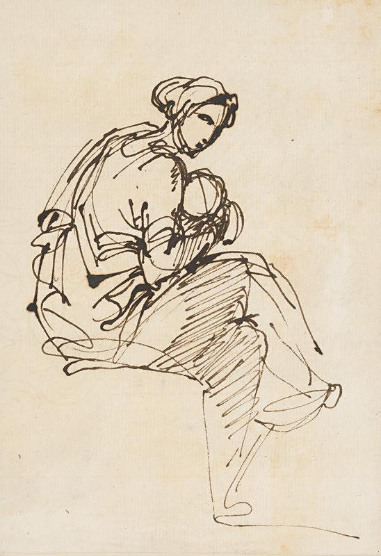 Vincenzo Camuccini – Žena s dieťaťom