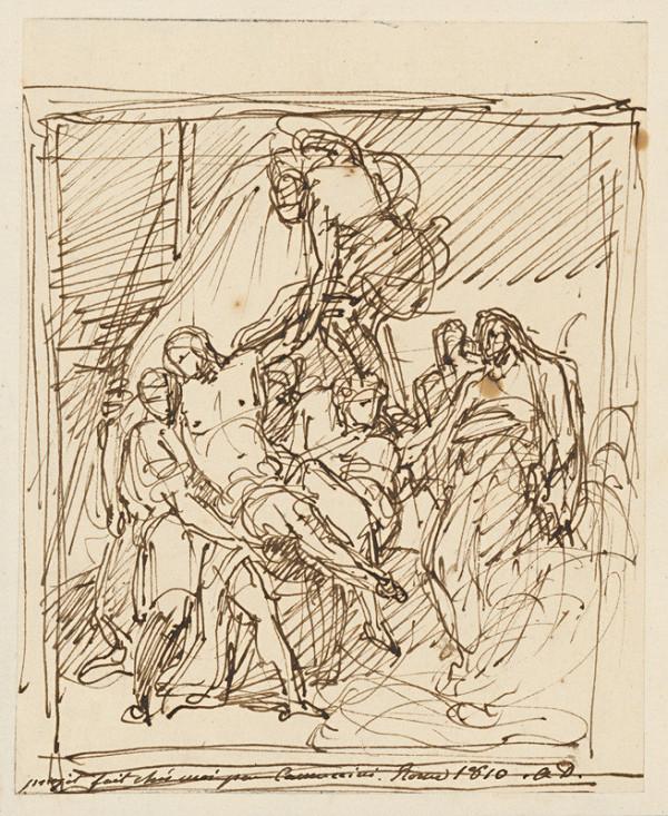Vincenzo Camuccini – Snímanie z kríža