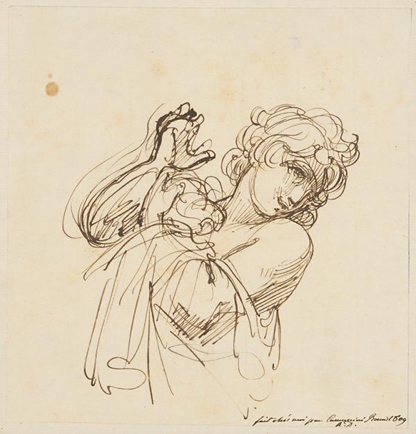 Vincenzo Camuccini – Štúdia ženského portrétu
