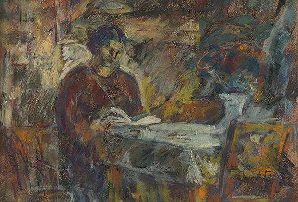 Janko Alexy - Moja manželka pri knihe
