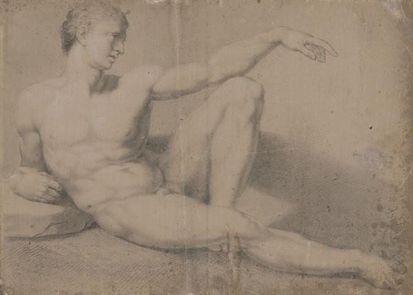 Jozef Czauczik, Michelangelo Buonarroti – Sediaci mužský akt