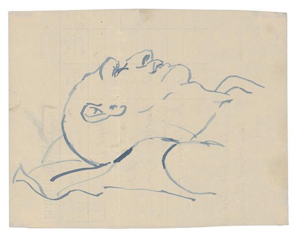 Jozef Fedora - Hlava ležiaceho muža