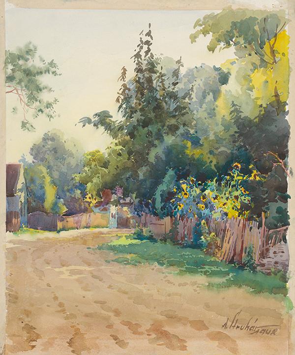 Alojz Struhár - Dedinská ulička