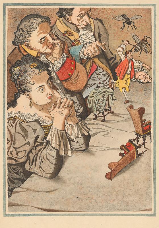 Vincent Hložník – Gulliver bojuje s chrústami v zemi obrov