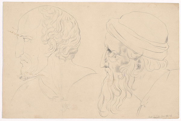 Ján Pálka – Dve mužské hlavy