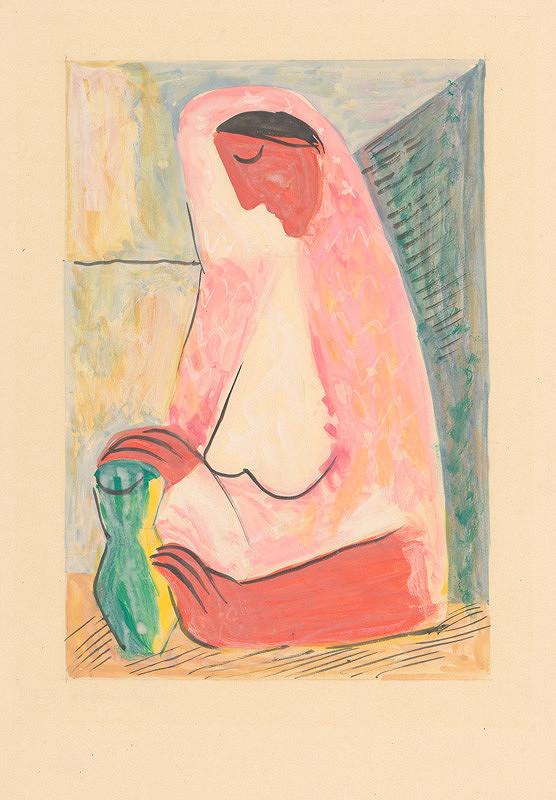 Mikuláš Galanda - Žena s vázou