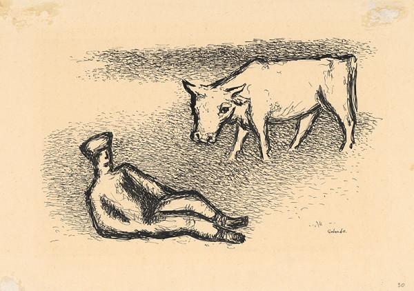 Mikuláš Galanda – Pasák kráv
