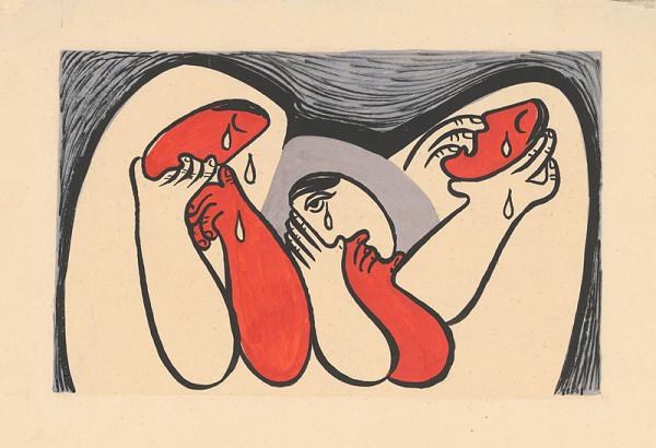 Mikuláš Galanda - Plačúce ženy