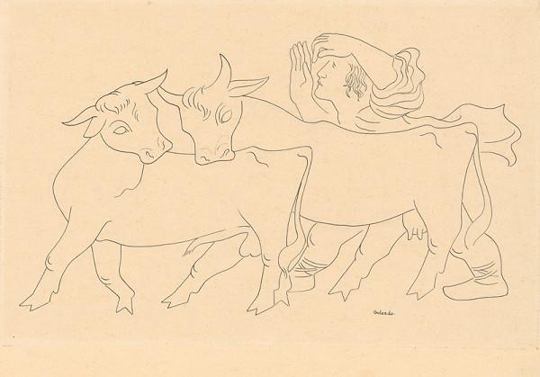 Mikuláš Galanda - Pastier kráv