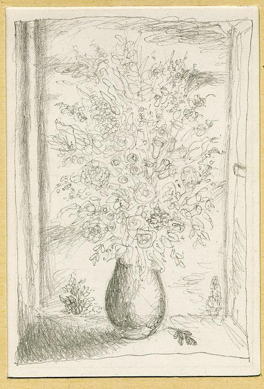 Mikuláš Galanda - Váza s kyticou poľných kvetov