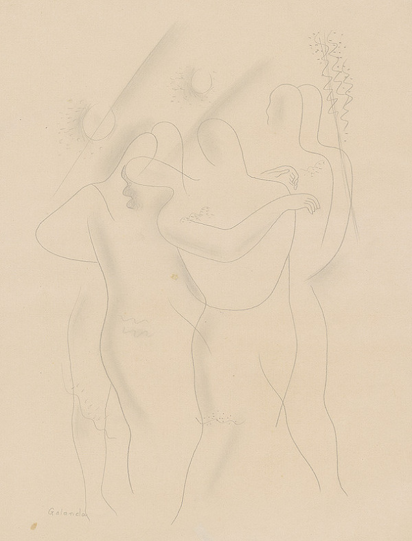 Mikuláš Galanda - Figurálna kompozícia