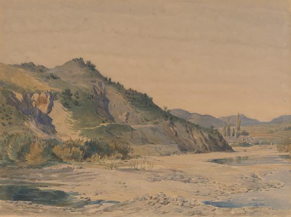Friedrich Carl von Scheidlin - Pahorkatá krajina