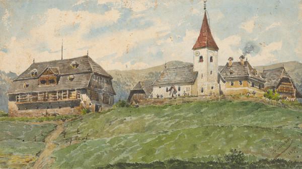Friedrich Carl von Scheidlin - Pohľad na St.Johann
