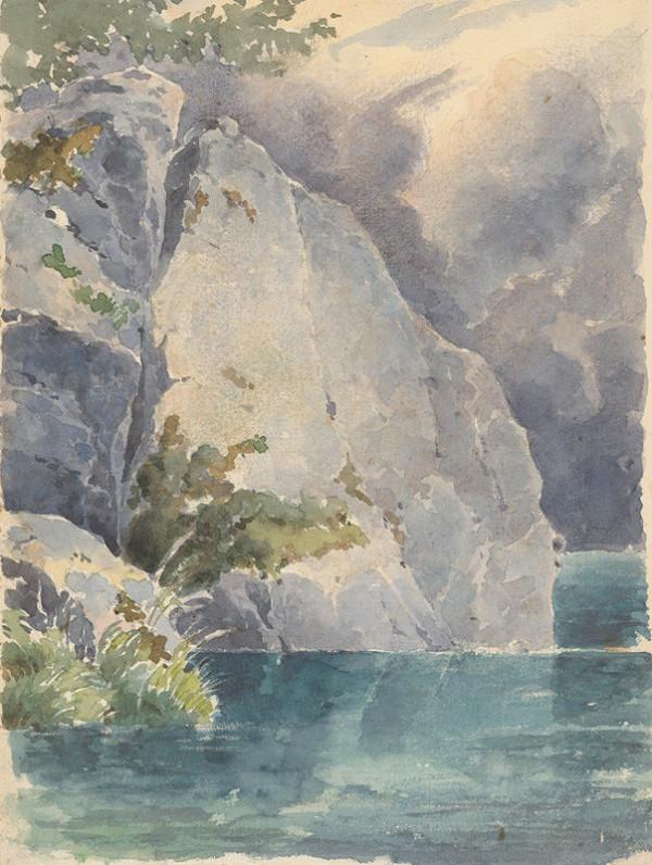 Friedrich Carl von Scheidlin – Skaly nad jazerom