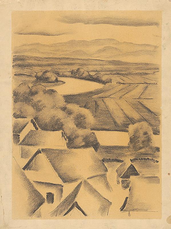 Edmund Gwerk - Dedina pri rieke